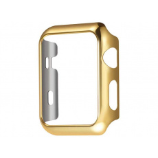 COTEetCI PC Plated Protective Case for Apple Watch 44mm Gold