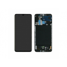 Samsung Galaxy A70 A705 LCD + Touch + Frame Black (Aftermarket)