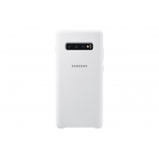 EF-PG975TWE Samsung Silicone Cover pro G975 Galaxy S10 Plus White (Pošk. Balení)
