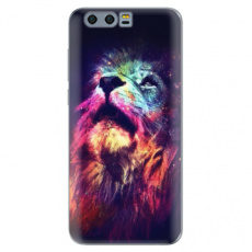 Silikonové pouzdro iSaprio - Lion in Colors - Huawei Honor 9