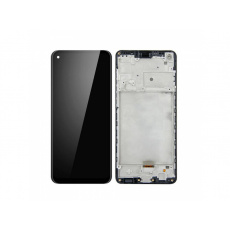 Samsung Galaxy A21s A217 (2020) LCD + Touch + Frame Black (Refurbished)