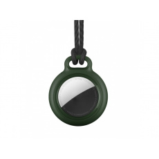 RhinoTech Case Lock with Tag for Apple AirTag Dark Green