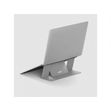 MOFT Adhesive Foldable Laptop Stand Silver