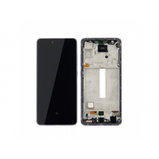 Samsung Galaxy A52 4/5G A525/526 LCD + Touch + Frame Violet (Service Pack)