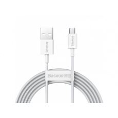 Baseus Superior Series Fast Charging Data Cable USB to Micro 2A 2m White