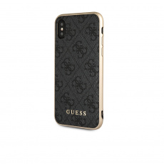 GUHCPXGF4GGR Guess Charms Hard Case 4G Grey pro iPhone X