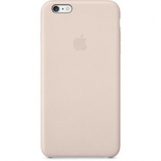 MGQW2ZM/A Apple Leather Cover Soft Pink pro iPhone 6 Plus/6S Plus