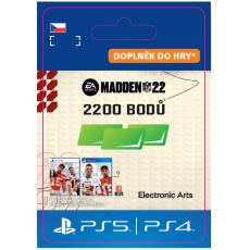 ESD CZ PS4 - MADDEN NFL 22 - 2200 Madden Points