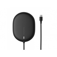 Baseus Light Magnetic Wireless Charger (For iPhone 12 with Type-C Cable 1.5M) Black