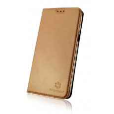 Pouzdro RedPoint Book Slim Magnetic iPhone 7/8/SE (2020) gold