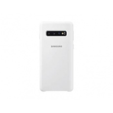 EF-PG973TWE Samsung Silicone Cover White pro G973 Galaxy S10 (Pošk Balení)