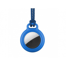 RhinoTech Case Lock with Tag for Apple AirTag Blue