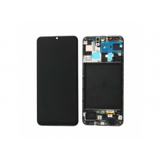 Samsung Galaxy A50 A505 LCD + Touch + Frame Black (Aftermarket)