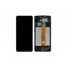 Samsung Galaxy A12 A125 2020 LCD + Touch + Frame Black (Aftermarket)